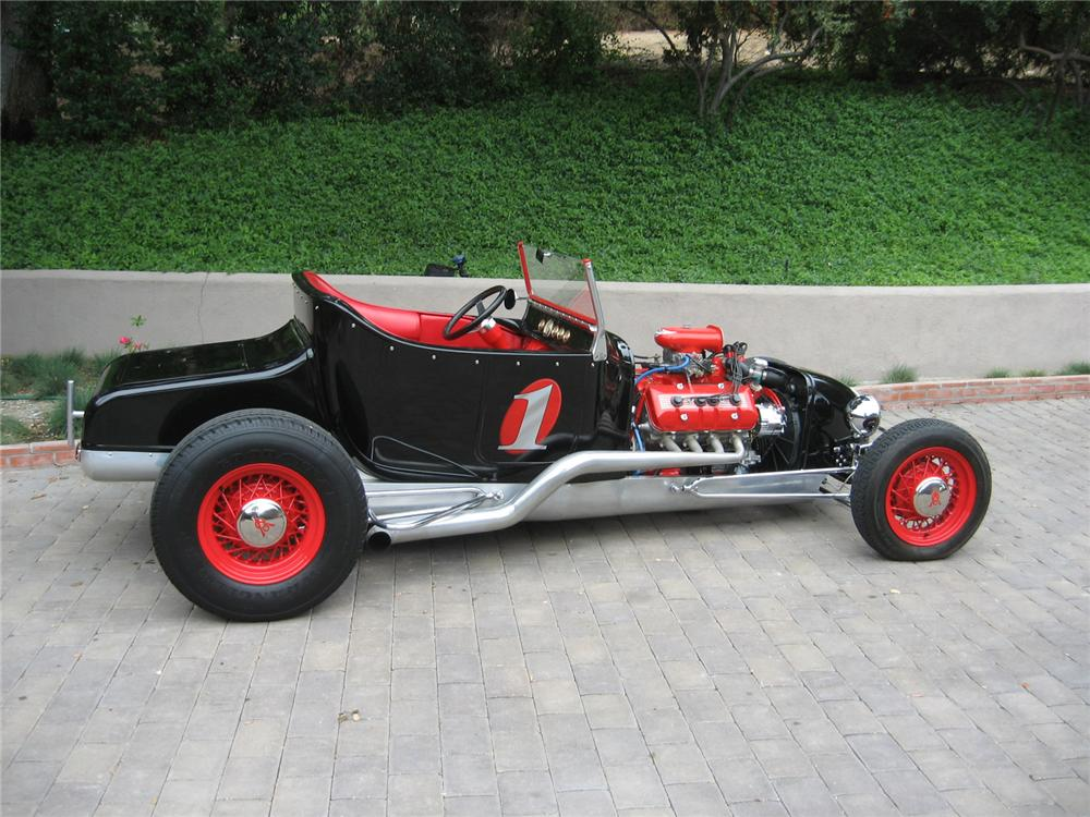 1923 FORD TRACKNOSE ROADSTER - Side Profile - 81454
