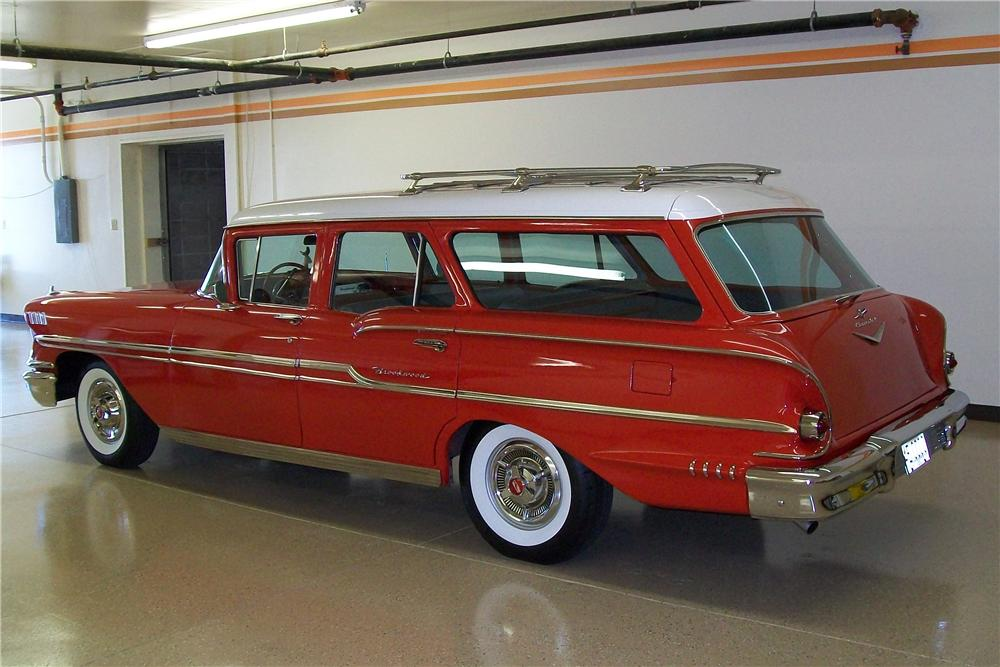 1958 Chevrolet Brookwood Station Wagon 81457