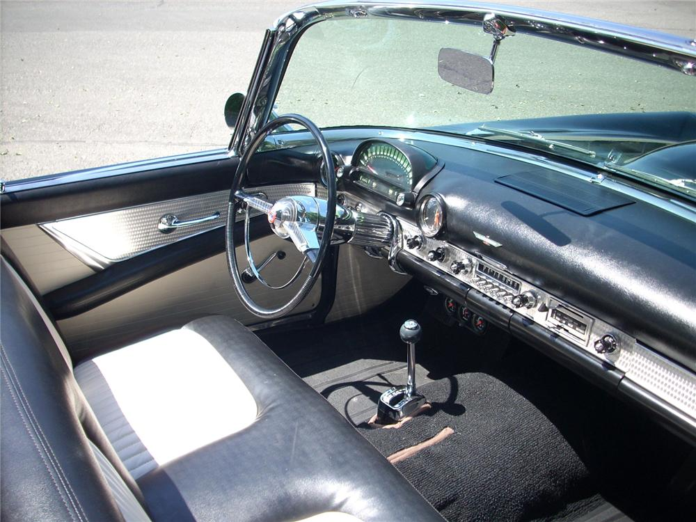 1955 FORD THUNDERBIRD CONVERTIBLE - Interior - 81461