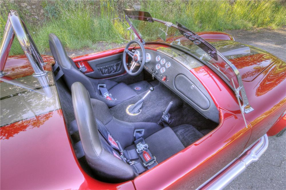 1965 FACTORY FIVE COBRA RE-CREATION ROADSTER - Interior - 81462