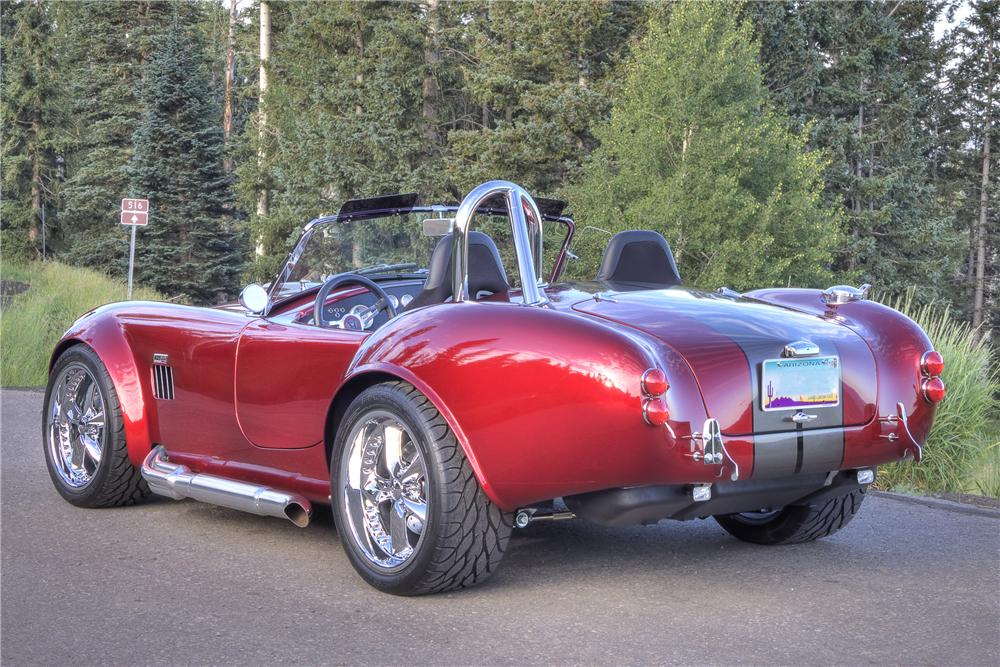 1965 FACTORY FIVE COBRA RE-CREATION ROADSTER - Rear 3/4 - 81462