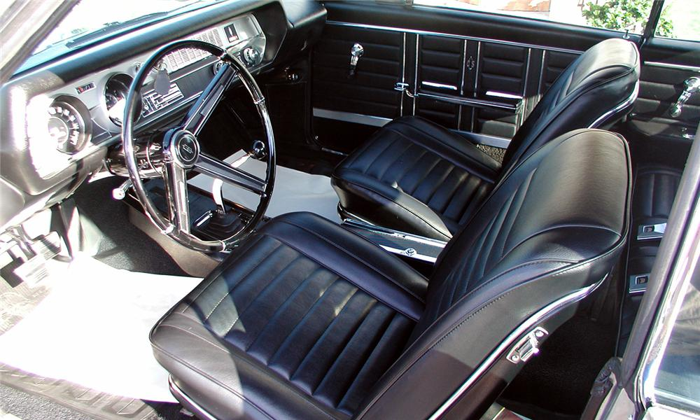 1967 OLDSMOBILE 442 2 DOOR HARDTOP - Interior - 81491