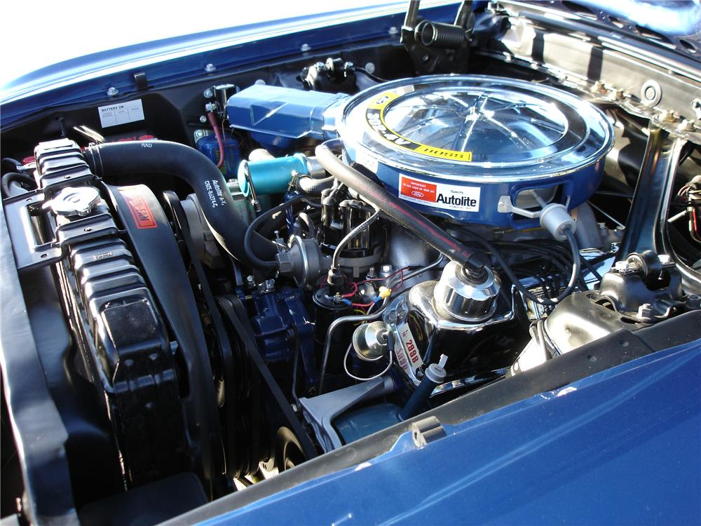 1969 FORD MUSTANG BOSS 302 FASTBACK - Engine - 81515