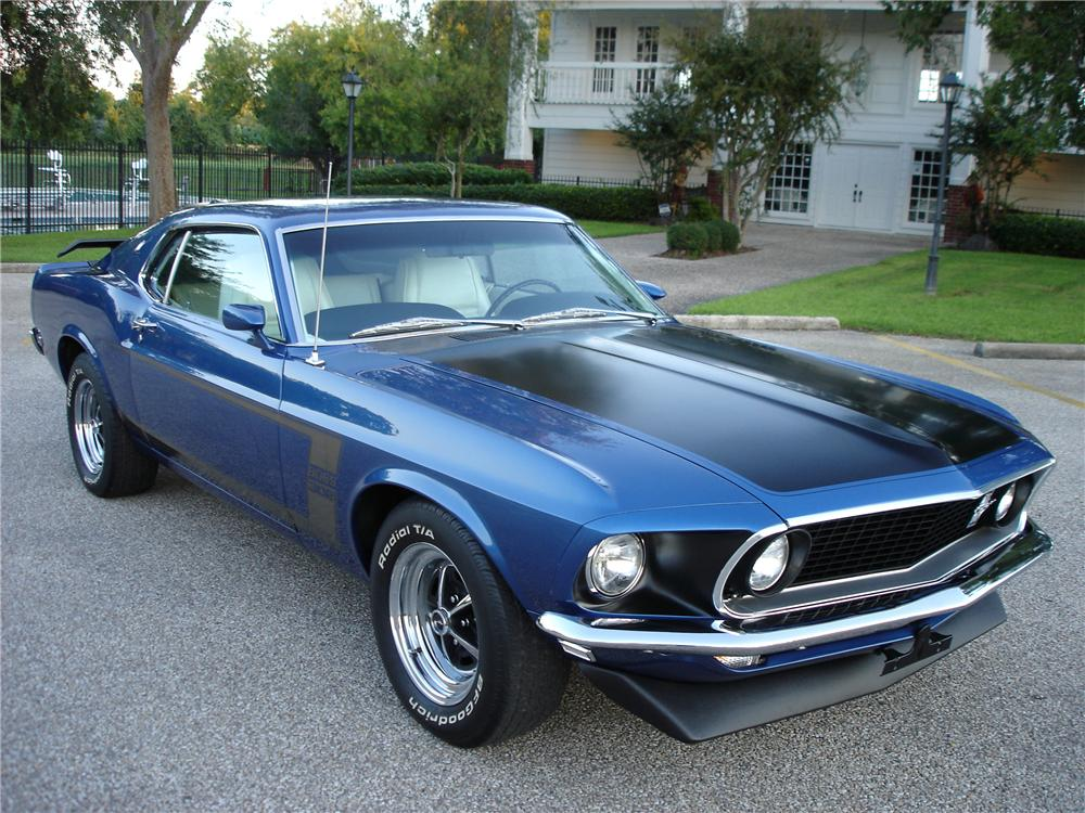 1969 ford mustang boss 302 fastback 81515. Black Bedroom Furniture Sets. Home Design Ideas