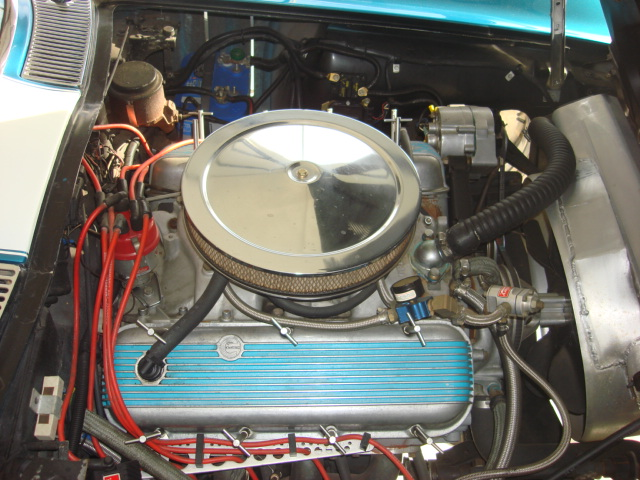 1966 CHEVROLET CORVETTE CONVERTIBLE - Engine - 81563