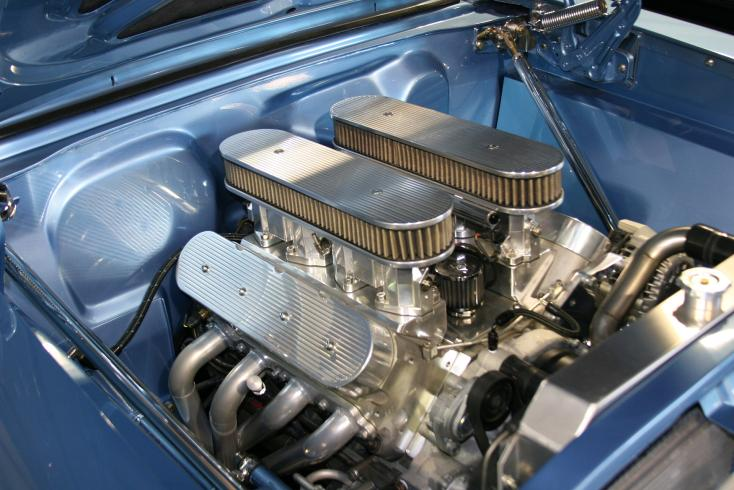 1967 CHEVROLET CHEVY II NOVA CUSTOM SEDAN - Engine - 81567