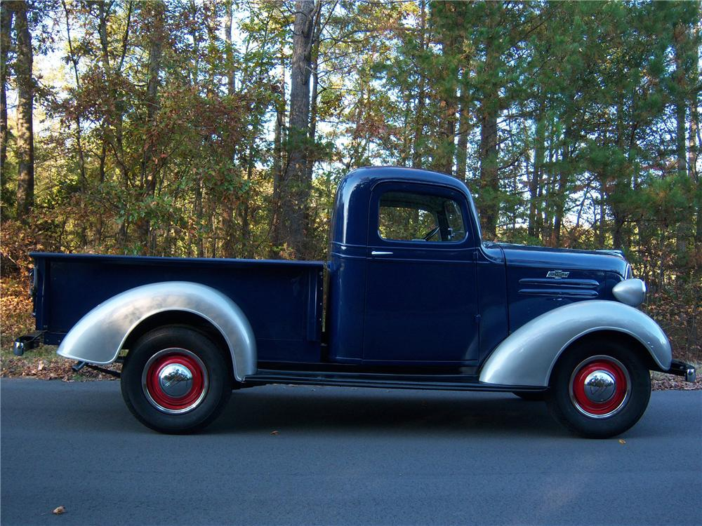 1937 Chevrolet Step Side Truck 81568