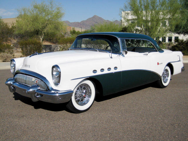 1954 buick roadmaster 2 door hardtop 81571