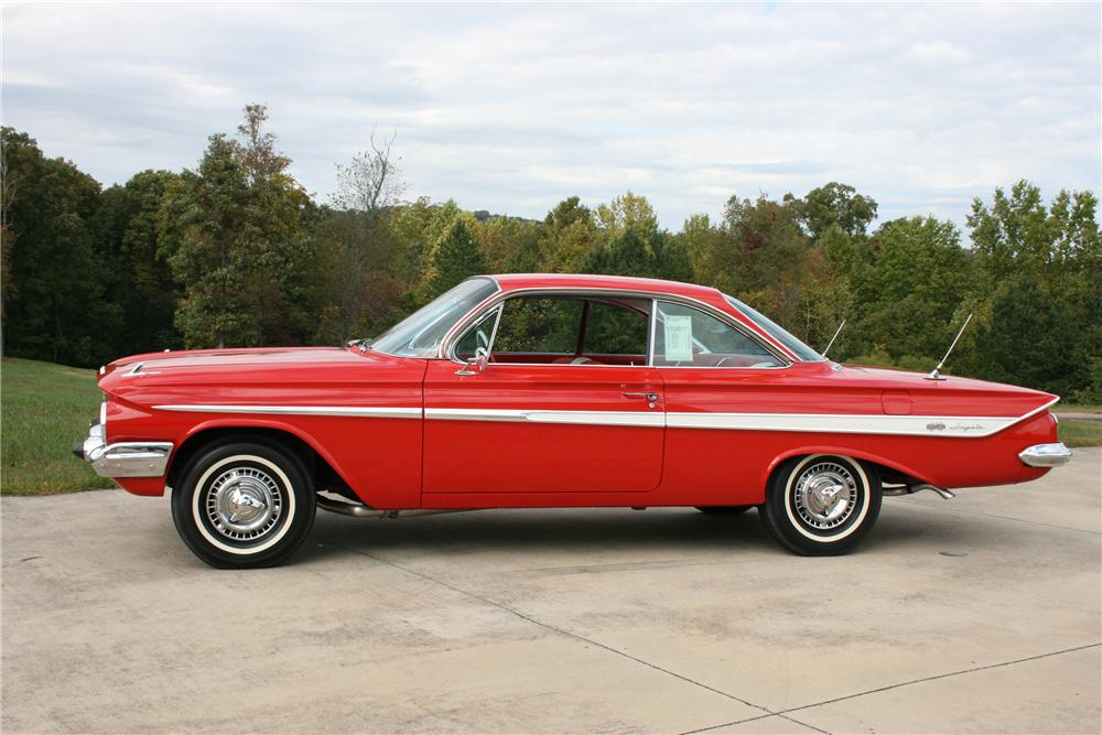 1961 CHEVROLET IMPALA SS 2 DOOR HARDTOP - Side Profile - 81581
