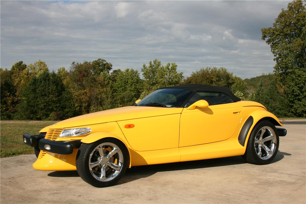 2000 PLYMOUTH PROWLER CONVERTIBLE - Front 3/4 - 81584