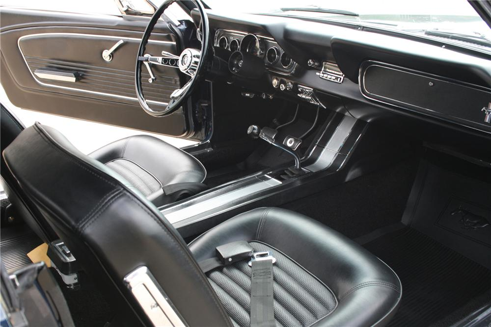 1966 FORD MUSTANG CONVERTIBLE - Interior - 81585