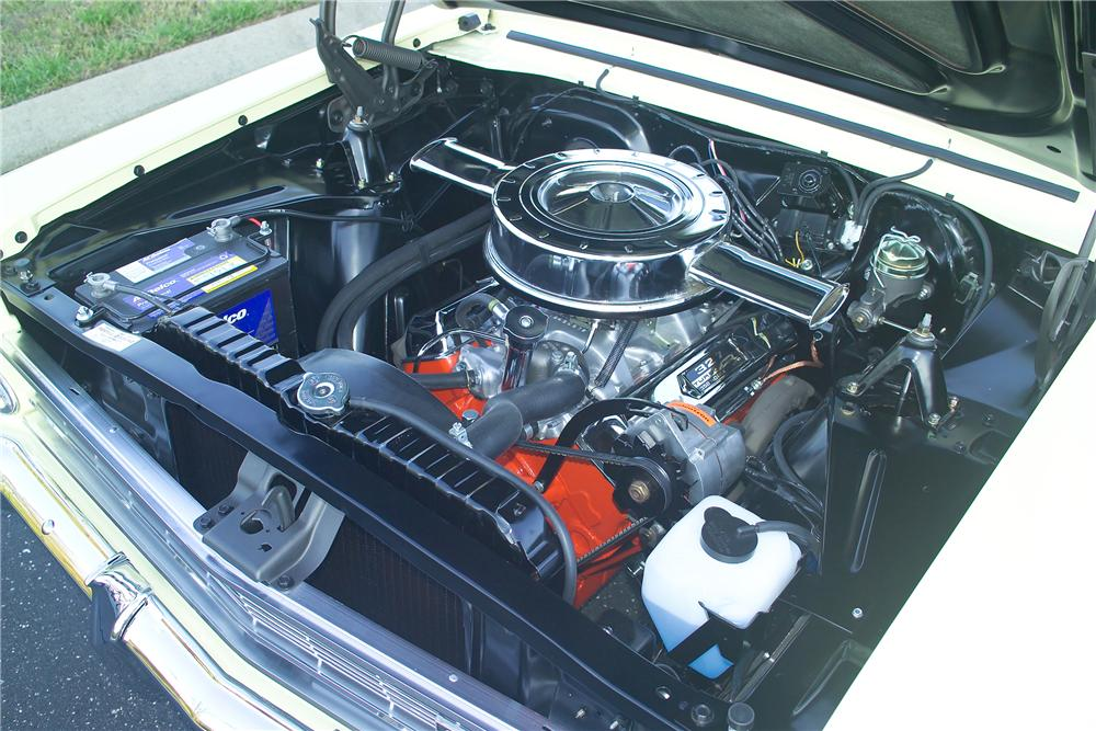1966 CHEVROLET NOVA 2 DOOR COUPE - Engine - 81587