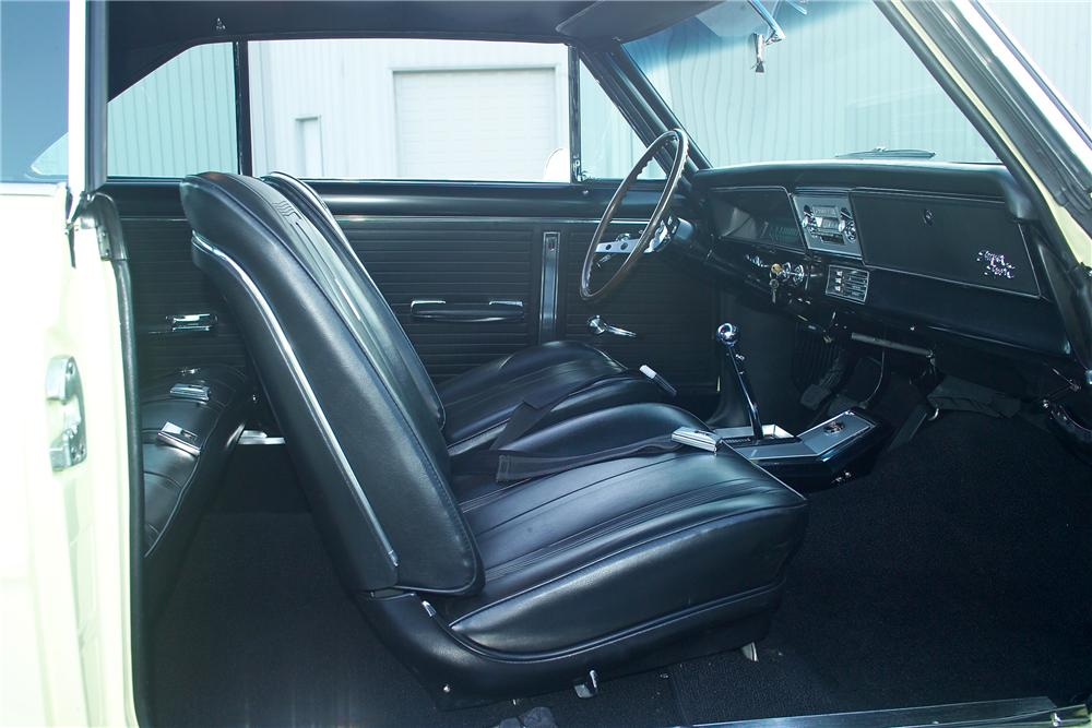 1966 CHEVROLET NOVA 2 DOOR COUPE - Interior - 81587