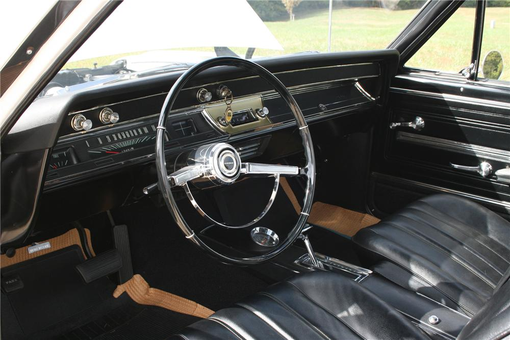 1966 CHEVROLET EL CAMINO PICKUP - Interior - 81591