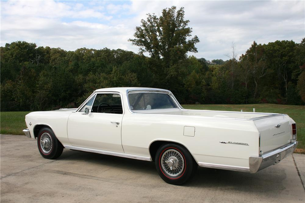 1966 CHEVROLET EL CAMINO PICKUP - Rear 3/4 - 81591