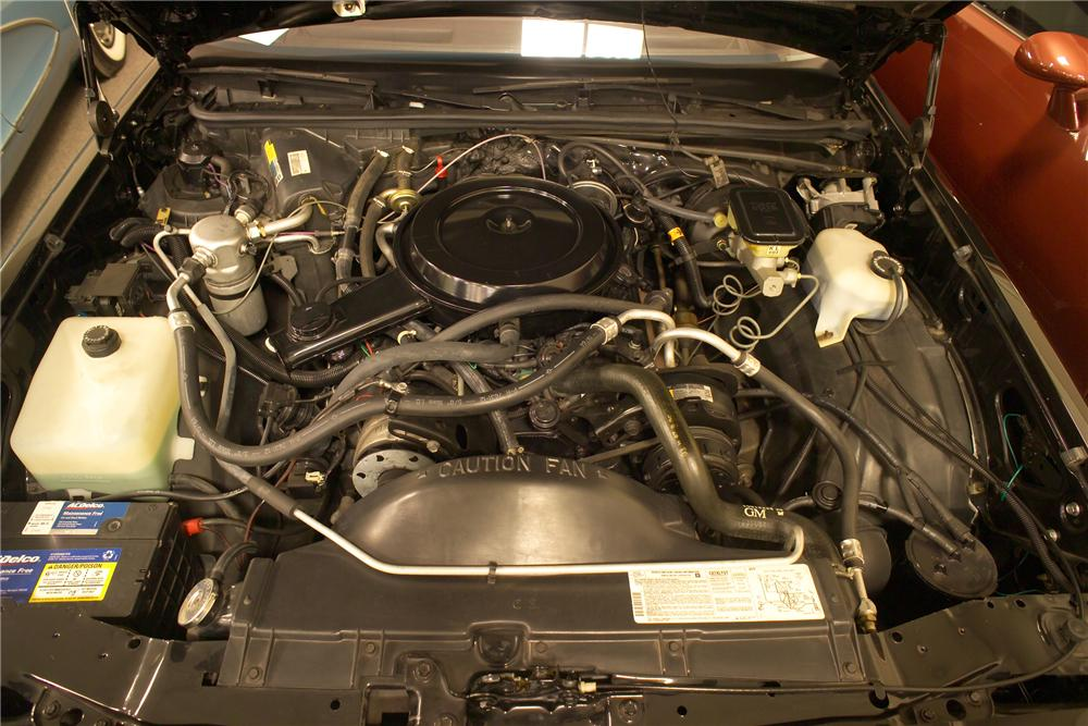 1987 CHEVROLET EL CAMINO PICKUP - Engine - 81594