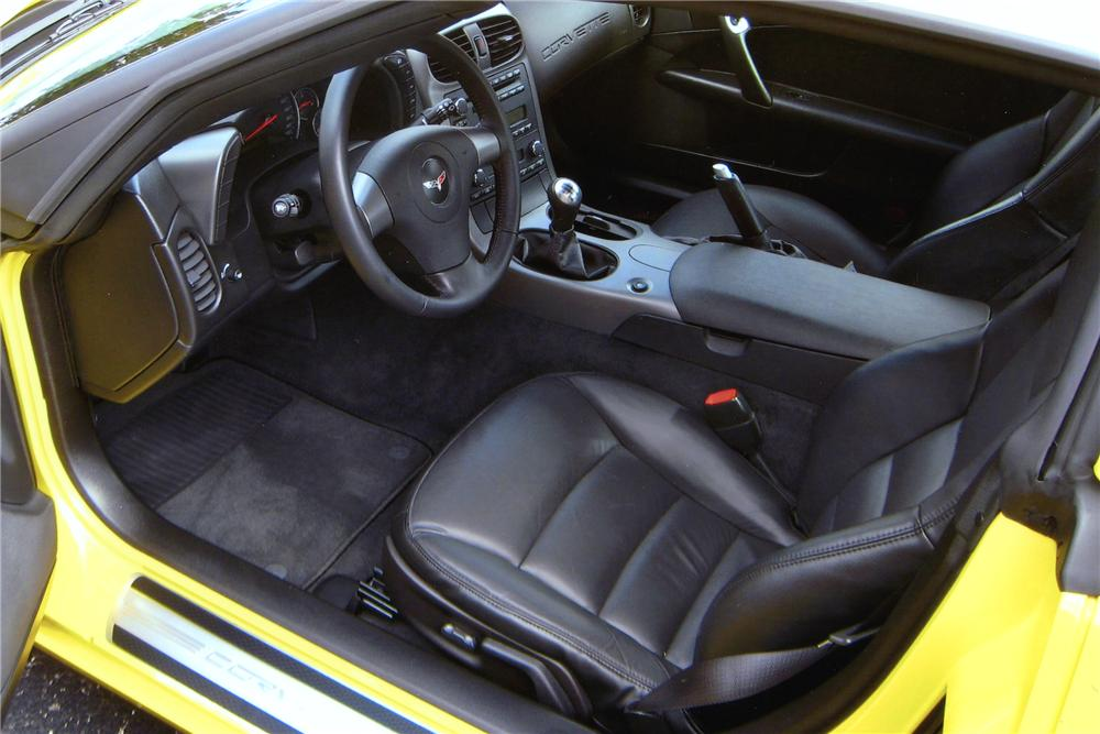 2007 CHEVROLET CORVETTE LINGENFELTER COUPE - Interior - 81602