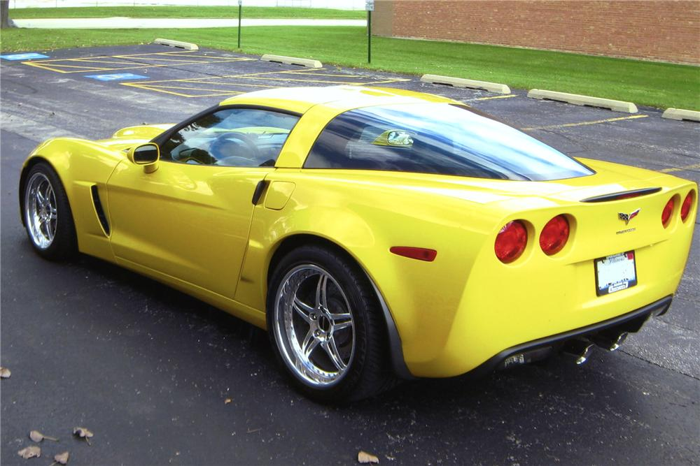 2007 CHEVROLET CORVETTE LINGENFELTER COUPE - Rear 3/4 - 81602