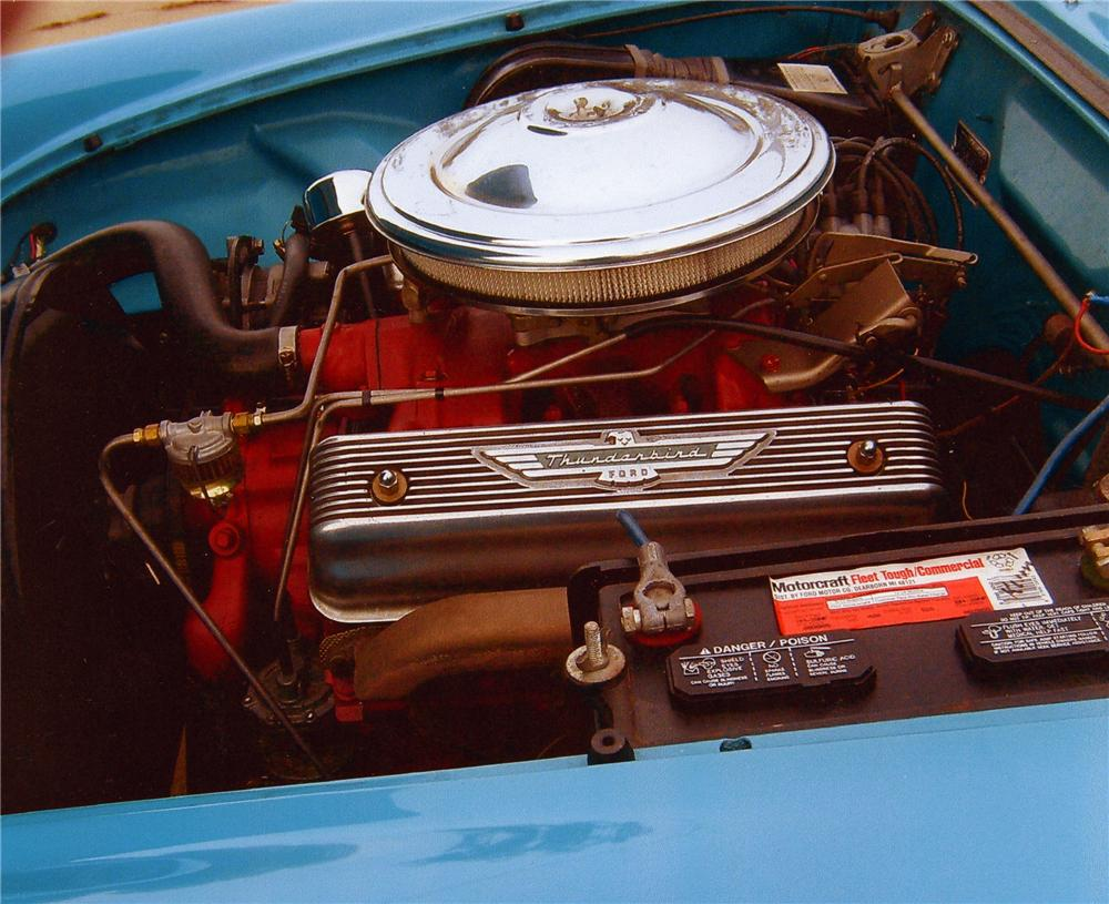 1956 FORD THUNDERBIRD CONVERTIBLE - Engine - 81611
