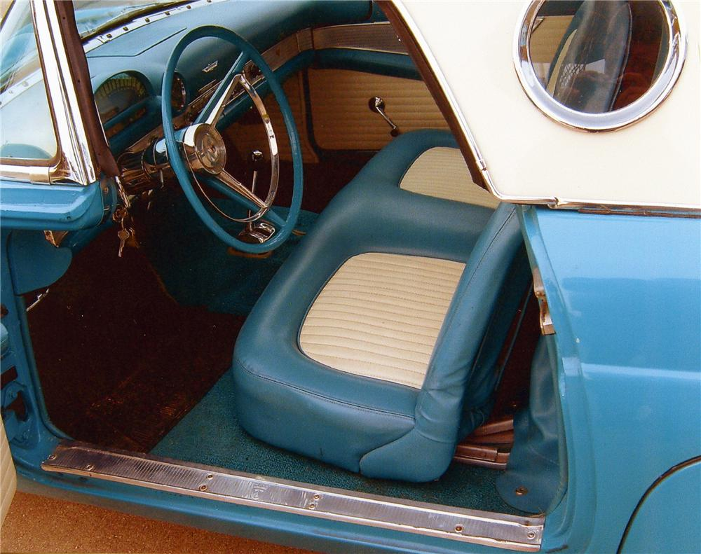 1956 FORD THUNDERBIRD CONVERTIBLE - Interior - 81611