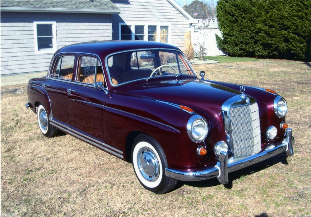 1959 mercedes benz 220s 4 door sedan 81612