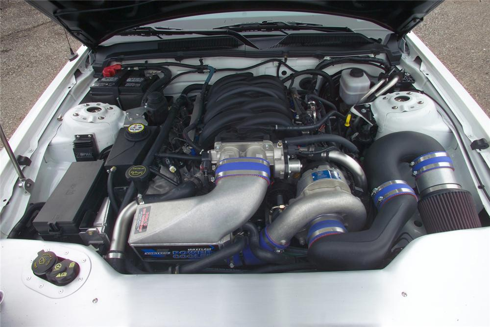 "2005 FORD MUSTANG ""FORZA SHOWDOWN WINNER"" - Engine - 81619"
