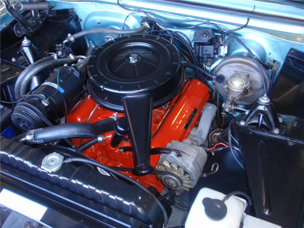 1964 CHEVROLET CHEVY II NOVA 2 DOOR SPORT COUPE - Engine - 81629