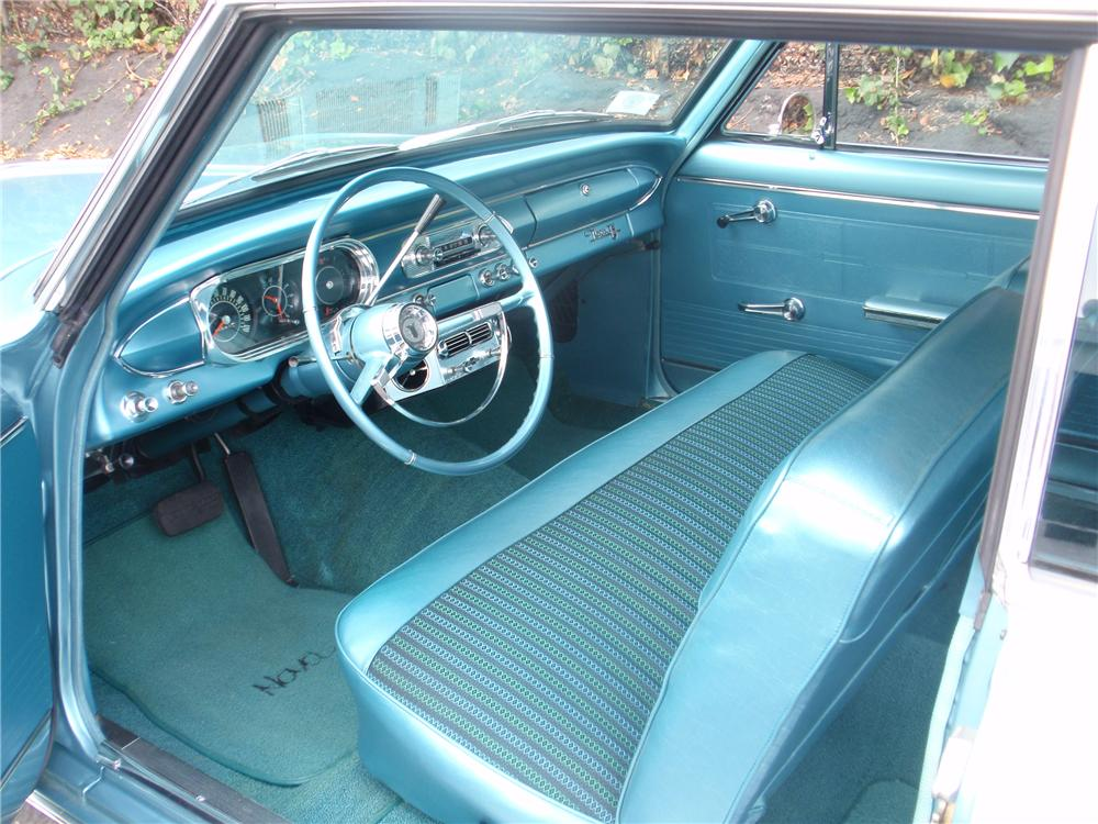 1964 CHEVROLET CHEVY II NOVA 2 DOOR SPORT COUPE - Interior - 81629