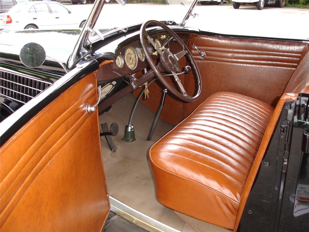 1935 FORD MODEL 48 4 DOOR PHAETON - Interior - 81631