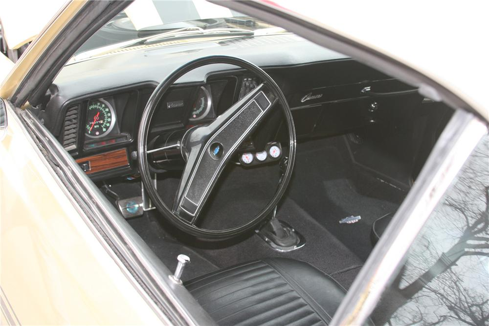 1969 CHEVROLET CAMARO YENKO RECREATION - Interior - 81633