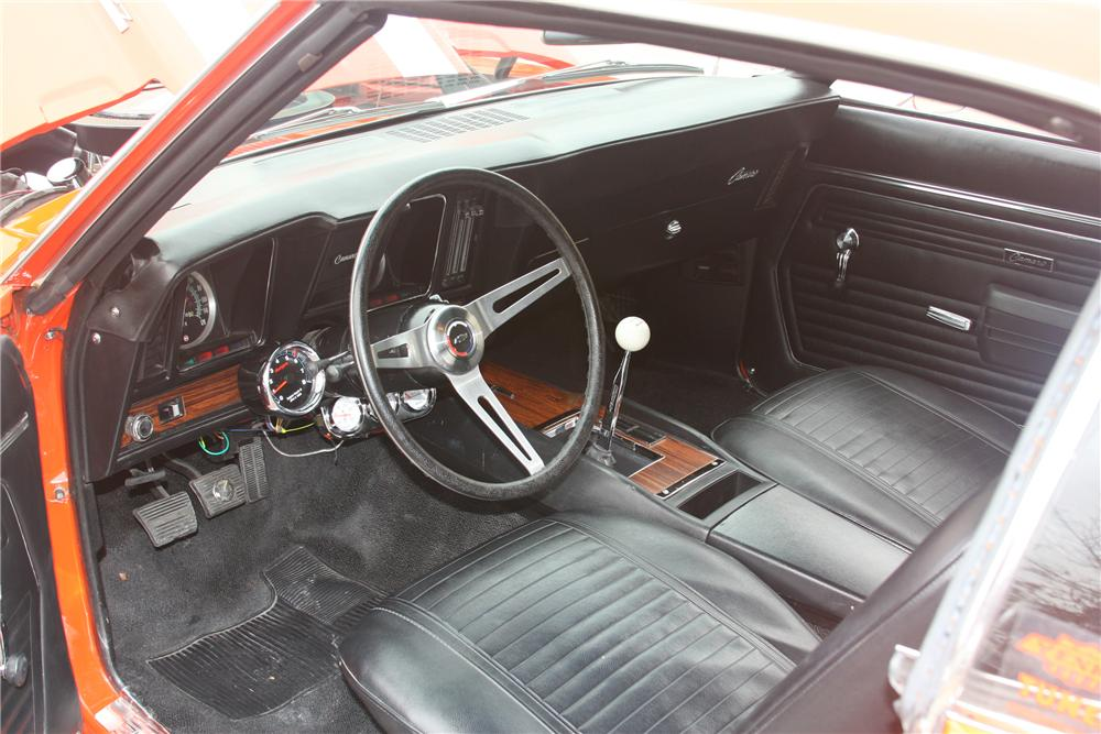 1969 CHEVROLET CAMARO YENKO RE-CREATION - Interior - 81634