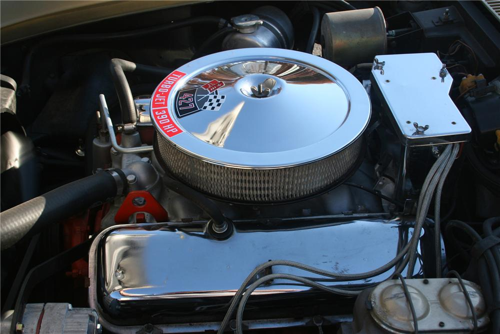1969 CHEVROLET CORVETTE STINGRAY CONVERTIBLE - Engine - 81635