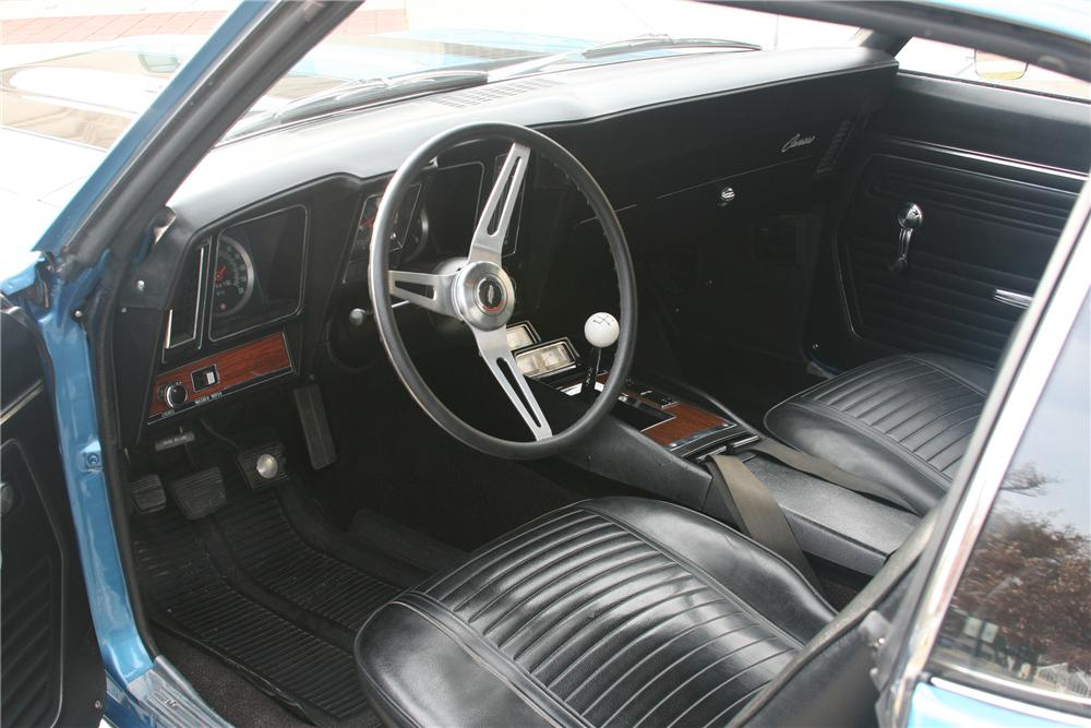 1969 CHEVROLET CAMARO Z/28 2 DOOR COUPE - Interior - 81642