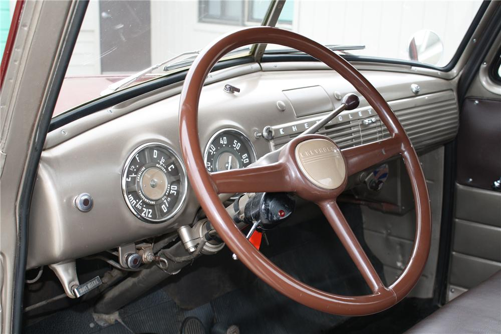 1951 CHEVROLET 3100 PICKUP - Interior - 81690