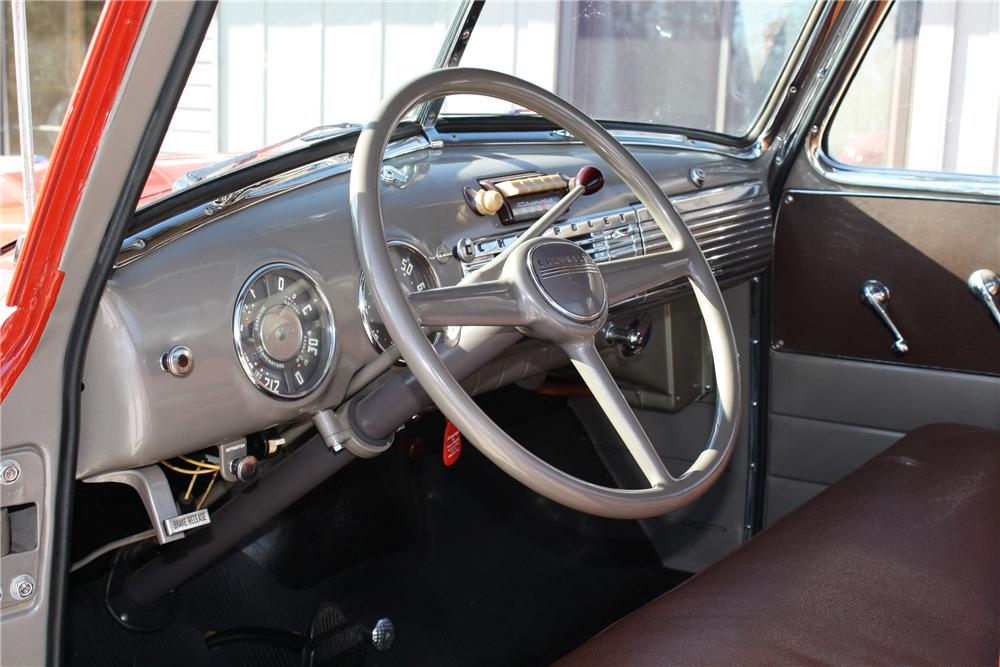 1948 CHEVROLET 3100 PICKUP - Interior - 81691