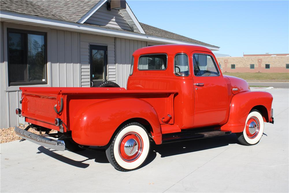 1948 CHEVROLET 3100 PICKUP - Rear 3/4 - 81691