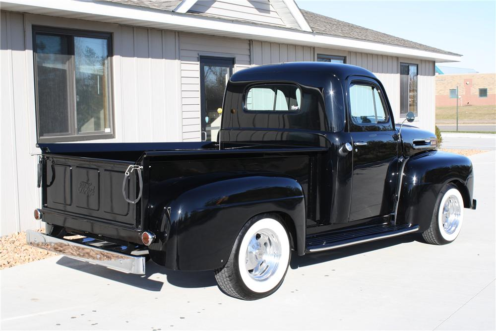 1949 FORD F-1 CUSTOM PICKUP - Rear 3/4 - 81694