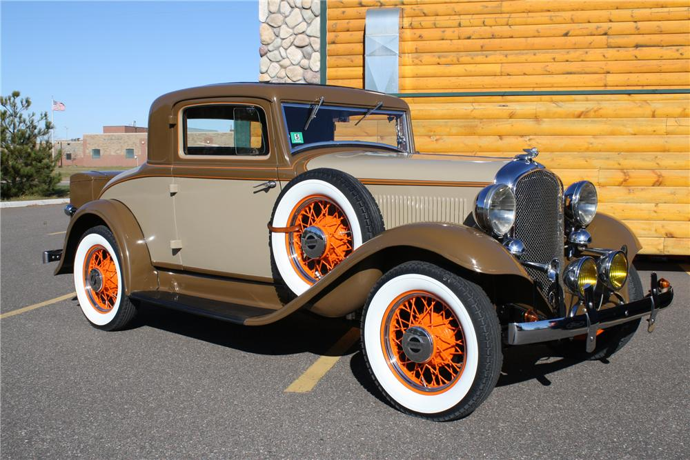 1932 PLYMOUTH PB COUPE - Front 3/4 - 81695
