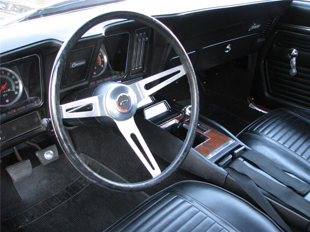 1969 CHEVROLET CAMARO Z/28 2 DOOR COUPE - Interior - 81697