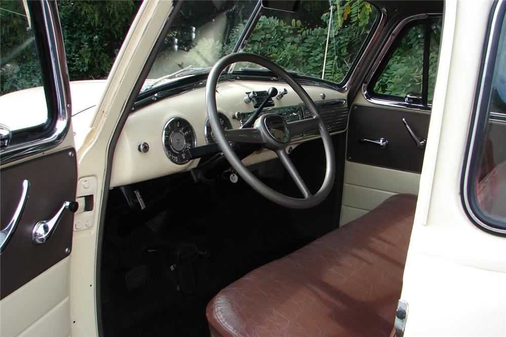 1951 CHEVROLET 3100 PICKUP - Interior - 81706