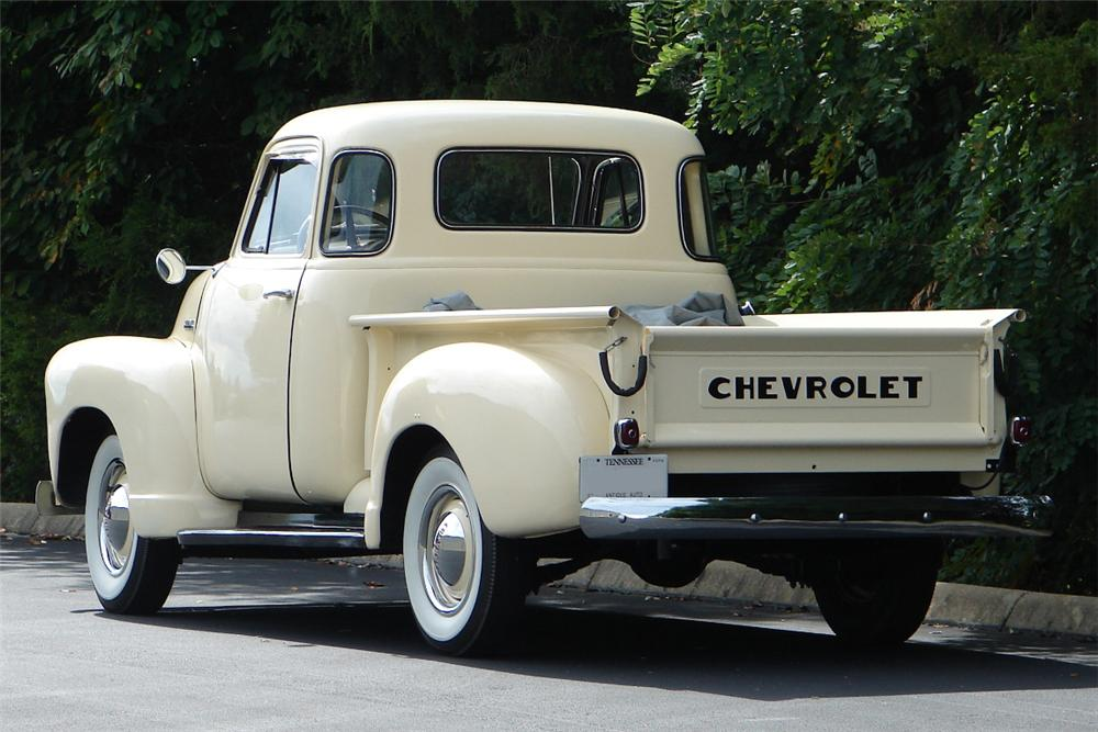 1951 CHEVROLET 3100 PICKUP - Rear 3/4 - 81706