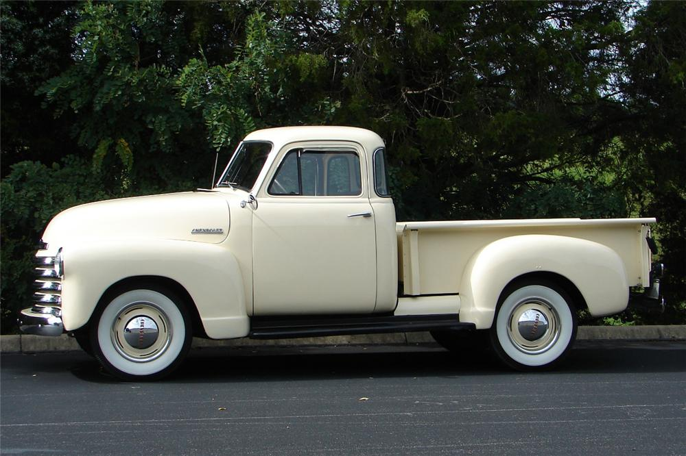 1951 CHEVROLET 3100 PICKUP - Side Profile - 81706