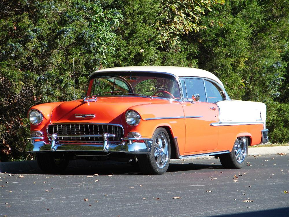 1955 chevrolet bel air custom 2 door hardtop 81707 for 1955 chevy bel air 4 door
