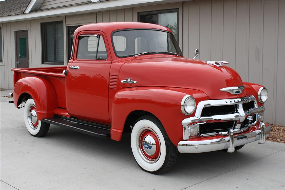 1955 CHEVROLET 3100 PICKUP - Side Profile - 81710