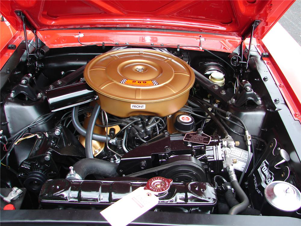 1965 FORD MUSTANG CONVERTIBLE - Engine - 81716
