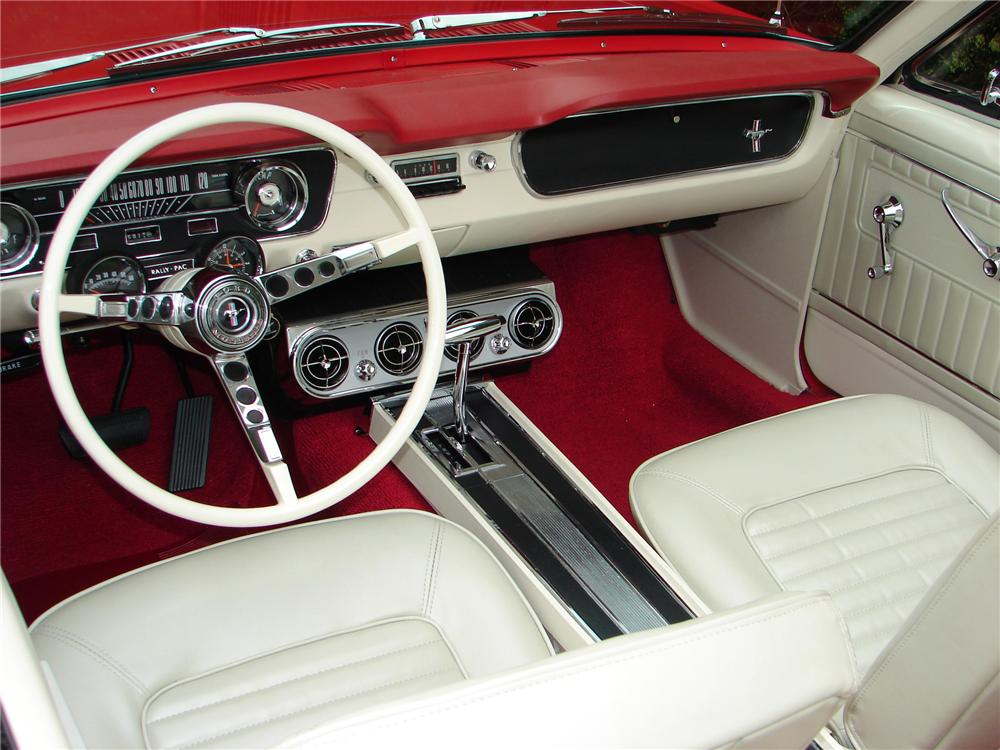 mustang 1965 interior ford convertible cars mustangs google interiors retro shelby classic autos