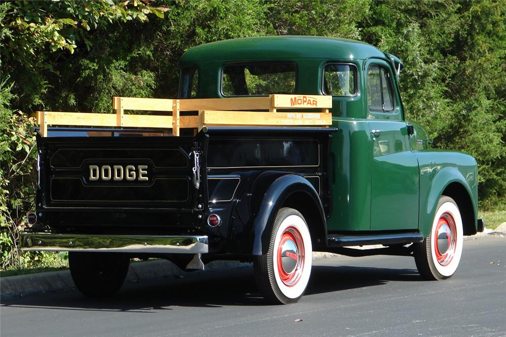 1950 DODGE B-2 PICKUP - Rear 3/4 - 81720