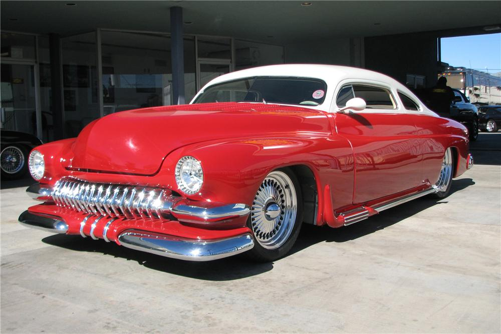 1951 MERCURY CUSTOM COUPE - Front 3/4 - 81729
