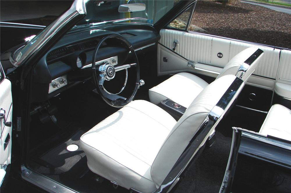 1964 CHEVROLET IMPALA SS CONVERTIBLE - Interior - 81730