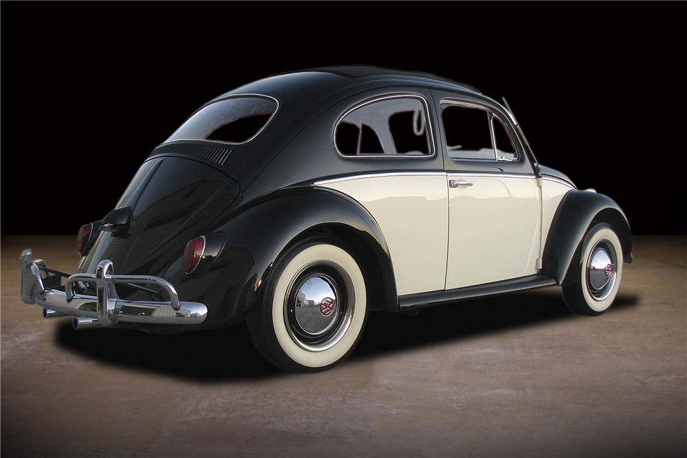 1963 VOLKSWAGEN BEETLE 2 DOOR SEDAN - 81736